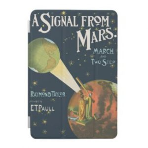 A Signal From Mars iPad Mini Cover
