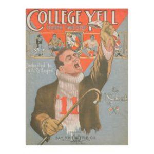 College Yell Fleece Blanket
